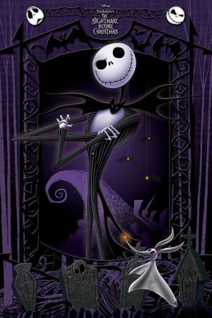 Nightmare Before Christmas Poster Set It's Jack 61 x 91 cm (5)