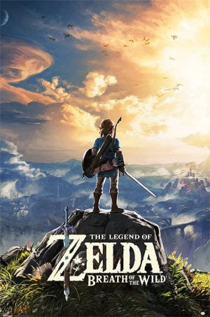 Legend of Zelda Breath of the Wild Poster Set Sunset 61 x 91 cm (5)