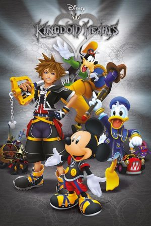 Kingdom Hearts Poster Set Classic 61 x 91 cm (5)