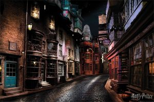 Cartell de Harry Potter Diagon Alley 61 x 91 cm (5)