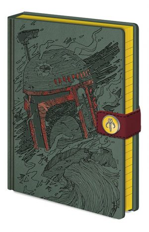 Star Wars Premium Notizbuch A5 Boba Fett Art