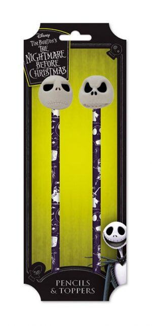Nightmare Before Christmas Bleistifte mit Topper 2er-Pack