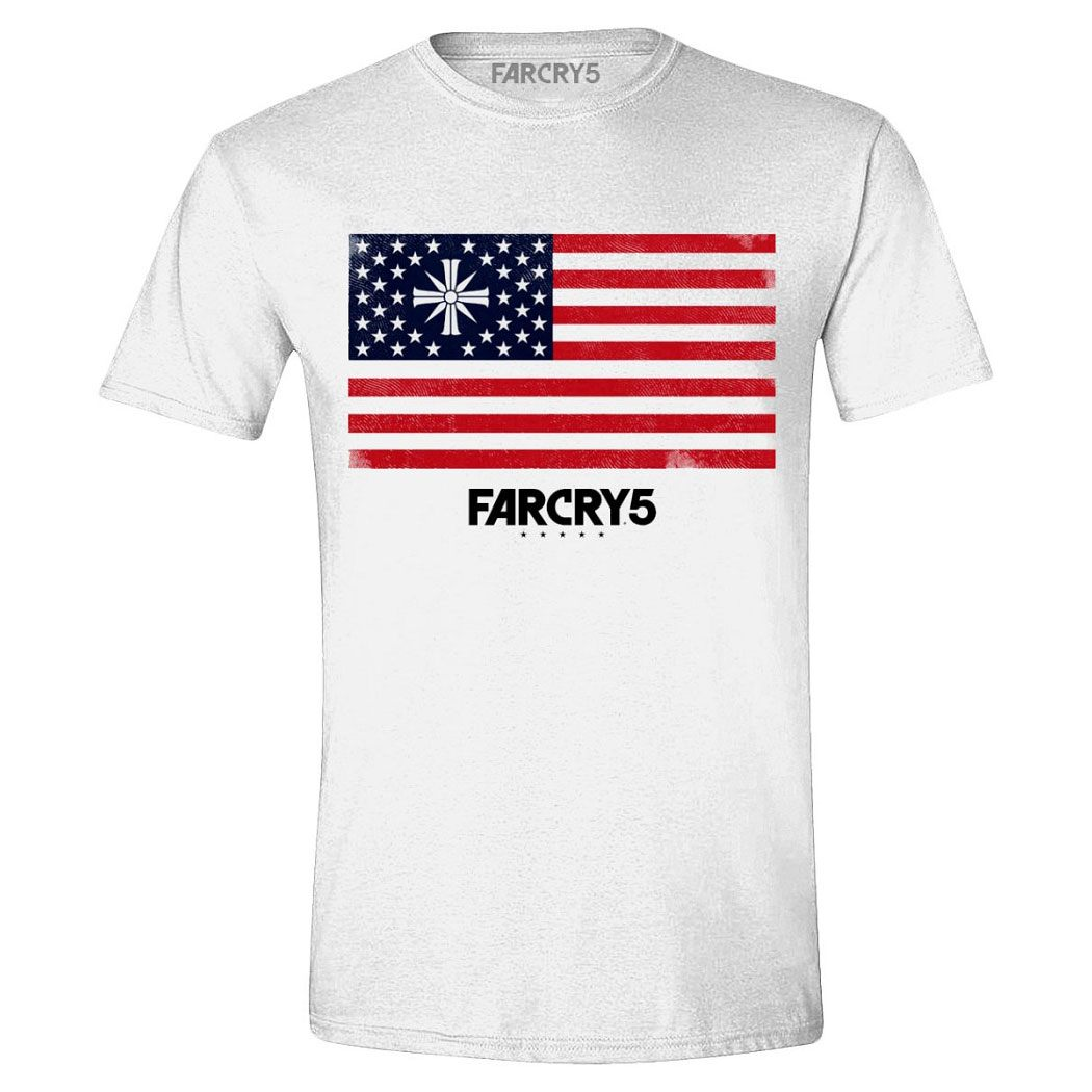 Far Cry 5 T Shirt Cult Flag Kecepatan