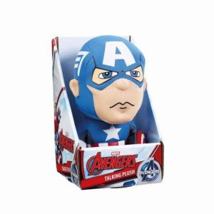Marvel Plüschfigur mit Sound Captain America 23 cm *Englische Version*