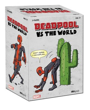 Deadpool Party Card Game Deadpool vs The World * Versió en anglès *