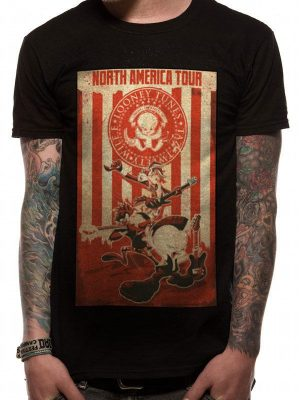 Looney Tunes T-Shirt Tour Poster