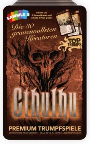 Cthulhu Kartenspiel Top Trumps *Deutsche Version*
