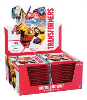 Transformers TCG Booster Display (30) englisch