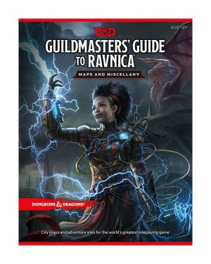 Dungeons & Dragons RPG Guildmasters' Guide to Ravnica - Maps & Miscellany englisch