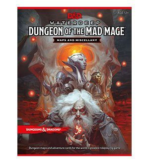 Dungeons & Dragons RPG Waterdeep: Dungeon of the Mad Mage - Maps & Miscellany englisch
