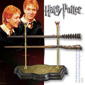 Harry Potter Wand Collection dels gemelos Weasley
