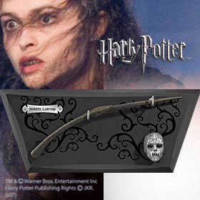 Harry Potter replica Bellatrix Lestranges varita 35 cm