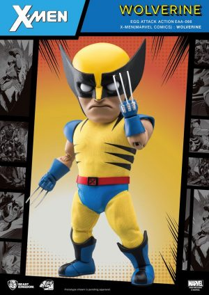 Marvel Egg Attack Action Figure Wolverine 17 cm