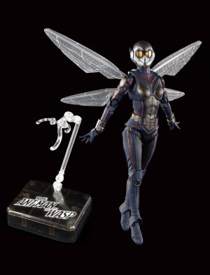 Ant-Man and the Wasp SH Figura d'acció de Figuart The Wasp & Tamashii Stage 15 cm