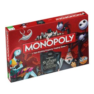 Nightmare before Christmas Brettspiel Monopoly *Englische Version*