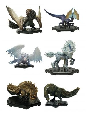 Monster Hunter Collectibles 10 - 15 cm CFB MH Standardmodell Plus Vol. 12 Sortiment (6)