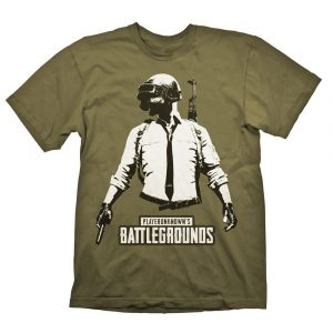 Playerunknown's Battlegrounds (PUBG) T-Shirt Guy Stencil