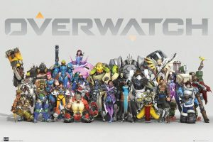 Overwatch Poster Set Anniversary Line Up 61 x 91 cm (5)