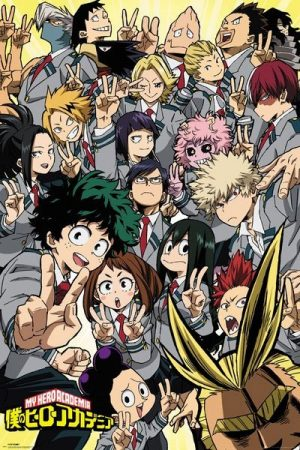 My Hero Academia Poster Set Compilation 61 x 91 cm (5)