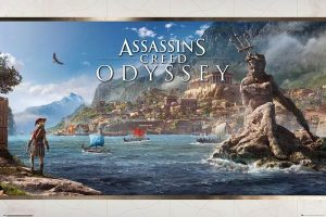 Assassins Creed Odyssey Poster Set Vista 61 x 91 cm (5)