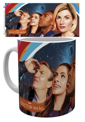 Doctor Who Tasse Painting