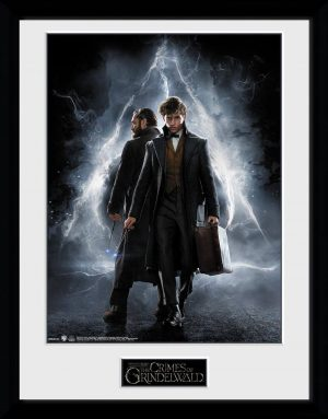 Cartell 2 Fantastic Beasts com a part d'una fulla 45 x 34 cm