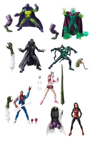 Marvel Legends Series Actionfiguren 15 cm Spider-Man 2018 Wave 1 Sortiment (8)