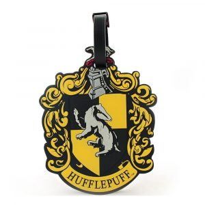 Harry Potter Gummi-Kofferanhänger Hufflepuff New Ver.