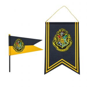 Harry Potter Wall Hanging & Flags Set Hogwarts