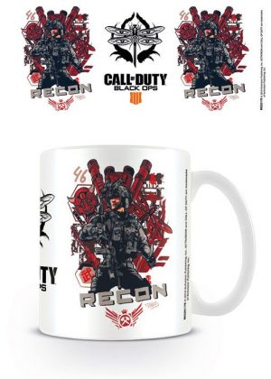 Call of Duty Black Ops 4 Tasse Recon