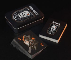 Call of Duty Black Ops 4 Spielkarten Skull