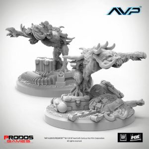 AvP Tabletop Game The Hunt Start Pack Expansion Predator Hellhounds UniCast * English Edition *