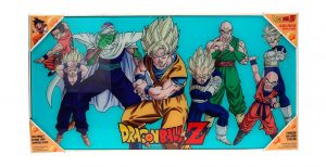 Dragonball Z Glas-Poster Heroes 30 x 60 cm