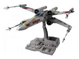 Star Wars Plastic Model Kit 1 / 72 X-Wing Starfighter