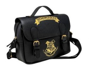 Bossa aïllada de Harry Potter Hogwarts Black & Gold (estil de llenceria)