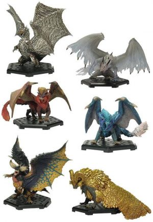 Monster Hunter Collectibles 10 - 15 cm CFB MH Standardmodell Plus Vol. 13 Sortiment (6)