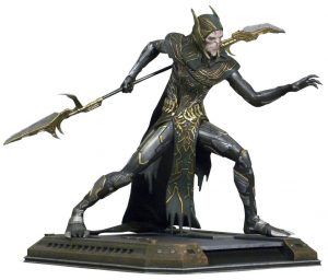 Avengers Infinity War Marvel Movie Gallery PVC Statue Corvus Glaive 20 cm