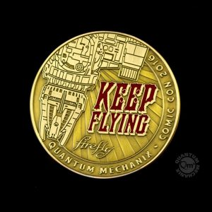 Firefly Coin Keep Leteči Coins Challenge SDCC 2016