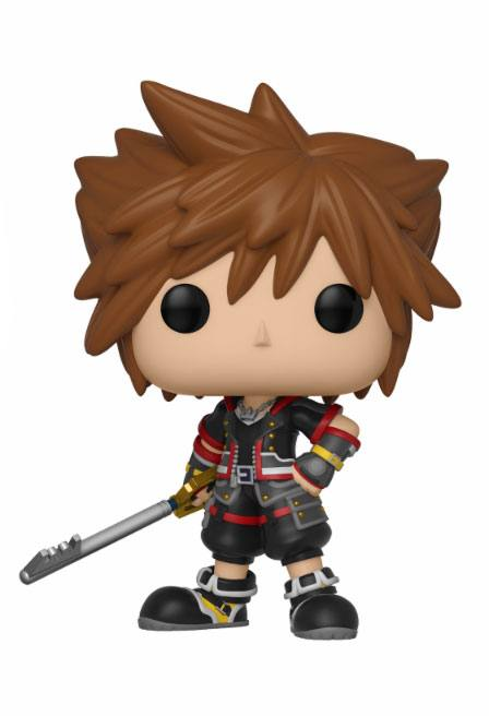 Kingdom Hearts 3 POP! Disney Vinyl Figur Sora 9 cm