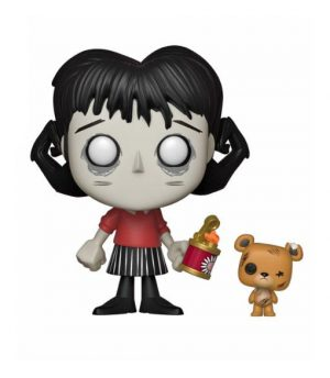 Don't Starve POP! Games Vinyl Figur Willow & Bernie 9 cm