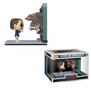 Stranger Things POP! Movie Moments Vinyl Wackelkopf Figuren 2er-Pack Eleven & Demogorgon 9 cm