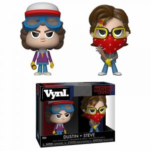 Stranger Things VYNL Vinyl-kuviot Twin Pack Steve & Dustin 10 cm