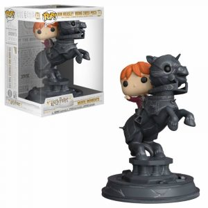 Harry Potter POP! Moments de la pel·lícula Figura de vinil Ron Riding Chess Piece 21 cm