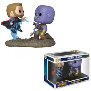 Marvel POP! Movie Moments Vinyl Figuren 2er-Pack Thor & Thanos 9 cm
