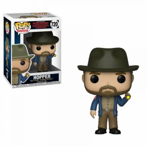 Stranger Things POP! TV Vinyl Figur Hopper & Flashlight 9 cm