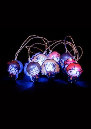 Harry Potter 2D Lichterkette Kawaii Characters