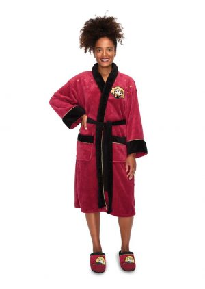 Harry Potter Girlie Fleece-Bademantel Kawaii Hermine Granger
