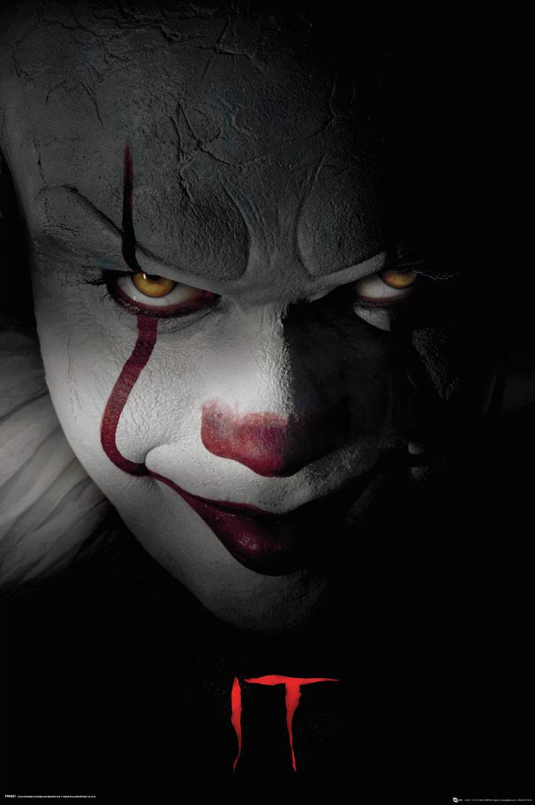 Es Poster Set Pennywise 61 x 91 cm (5)