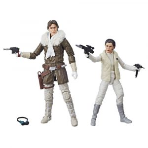 Star Wars Episode V Black Series Actionfiguren 2018 Leia & Han (Hoth) Convention Exclusive 15 cm