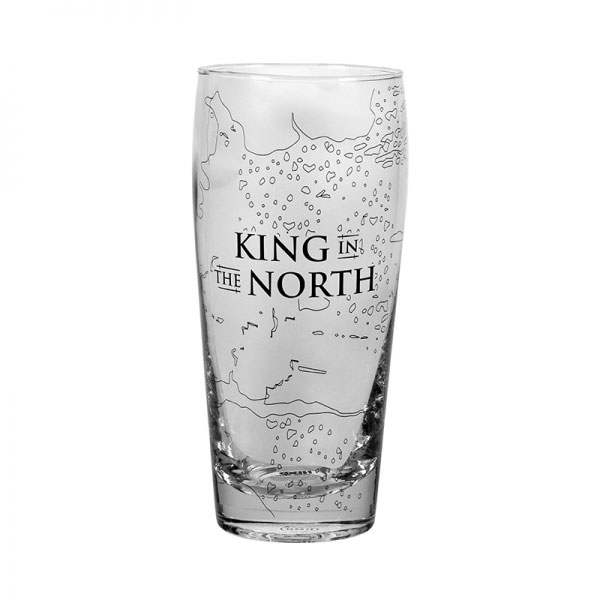 Game of Thrones Trinkglas King In The North